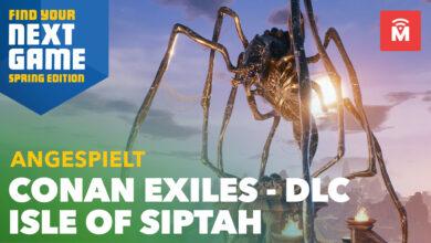 Jugamos el nuevo DLC de Conan Exiles y será mejor de lo que se temía