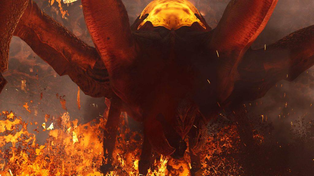 Outriders Boss Araña de lava