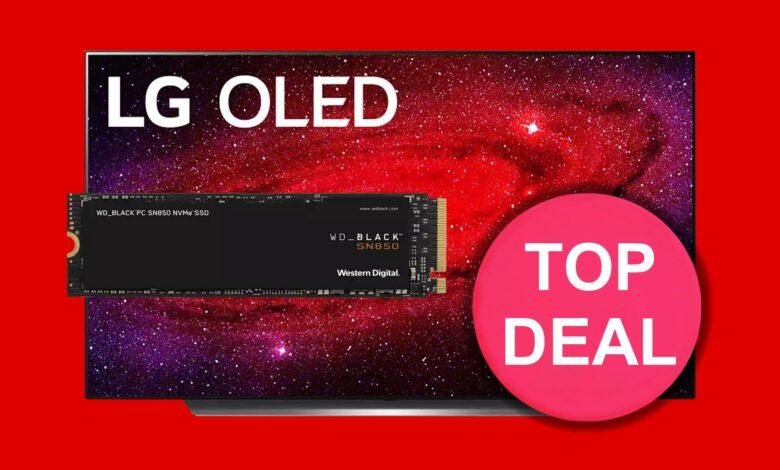 MediaMarkt: PCIe 4.0 SSD al mejor precio, LG OLED TV barato y más
