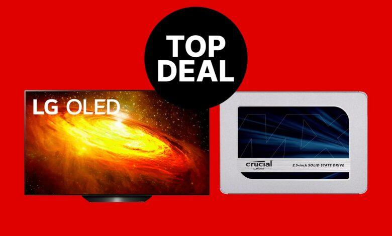 MediaMarkt ofrece: LG OLED 4K TV y Crucial SSD muy reducidos