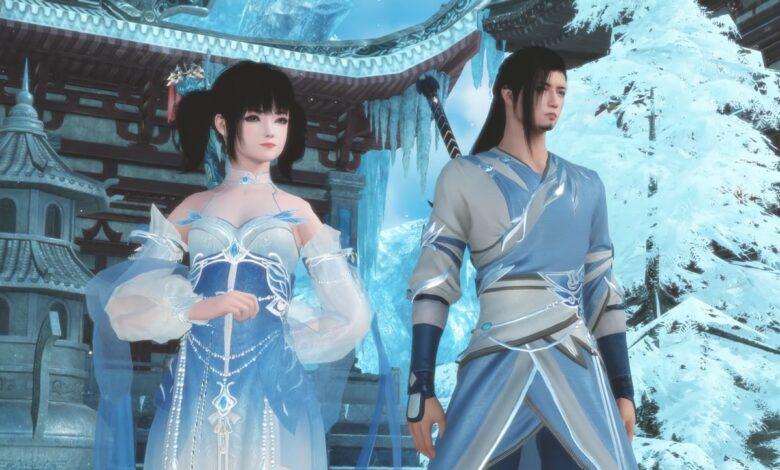 Nuevo MMORPG Swords of Legends muestra tercera clase: puede lanzar espadas desde la distancia