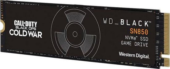 SSD WD_Black SN850 Call of Duty