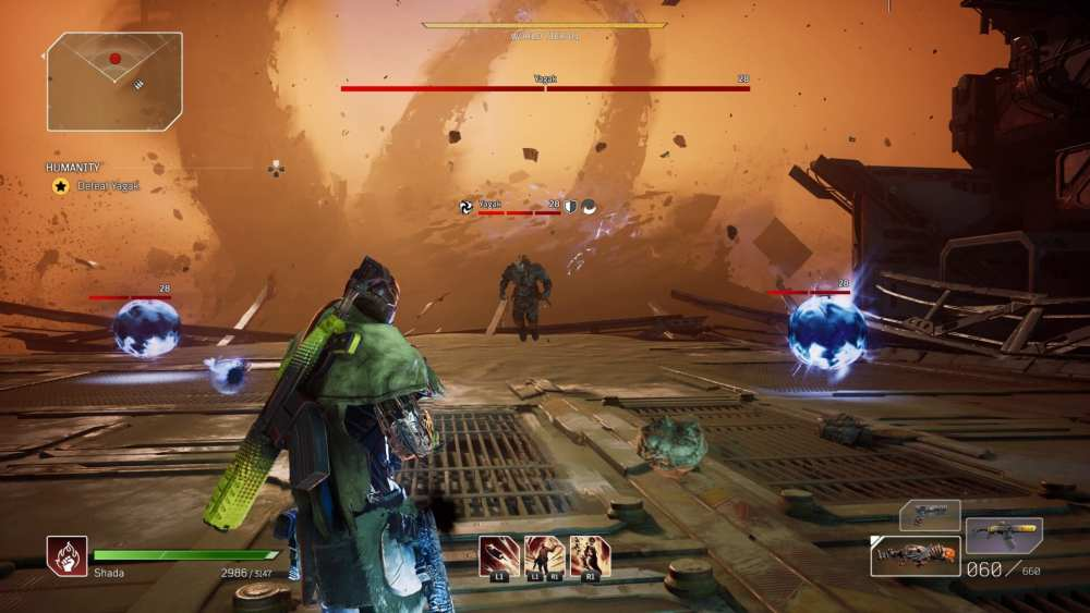 Outriders Cómo vencer a Yagak Final Boss Fight