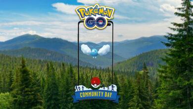 Pokémon GO: Community Day en mayo con Wablu y estas bonificaciones