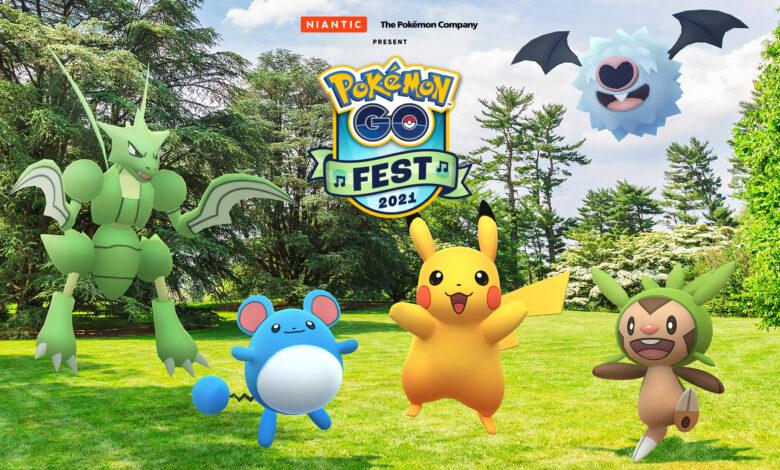Pokémon GO comienza el gran GO Fest 2021 en julio, lo sabemos