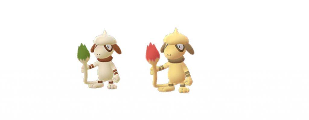 Águila de color brillante Pokemon GO