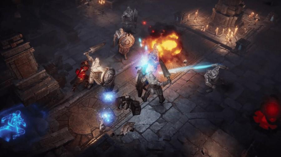 Batalla PvP de Diablo Immortal