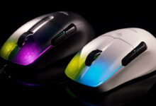 Roccat sorprende con un ratón RGB ultraligero que no necesita agujeros