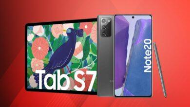 Samsung Galaxy Note 20 barato, tabletas S7 reducidas y más en Amazon