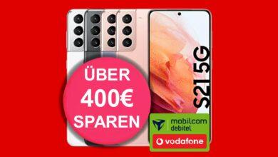 Samsung Galaxy S21 5G es actualmente barato en la oferta de tarifas en MediaMarkt
