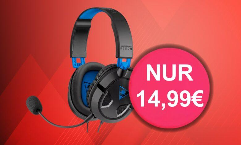 Solo 14,99 euros: buenos auriculares para juegos a precio de ganga en Amazon