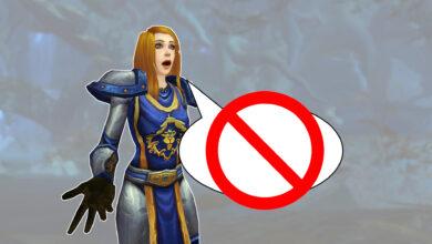 WoW ahora está censurando el chat en el juego, ¿eso también se aplica a nosotros?