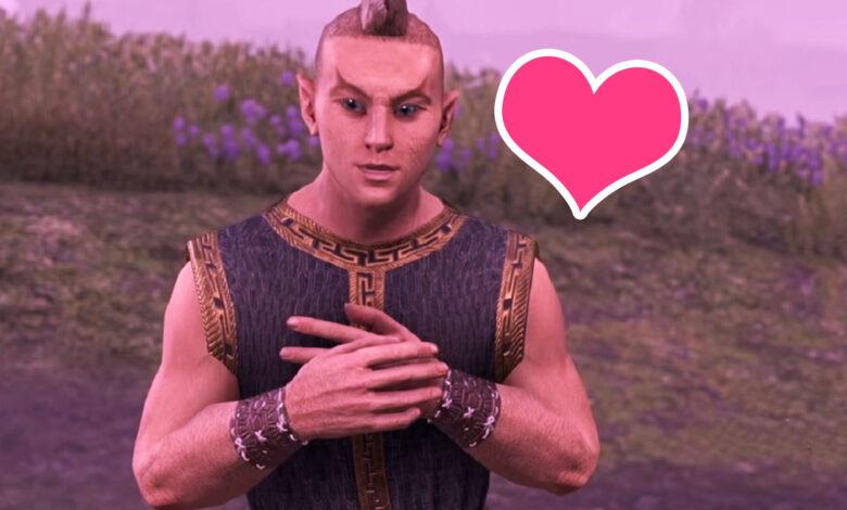 ESO trae de vuelta al loco NPC de Oblivion que te adora como a un dios