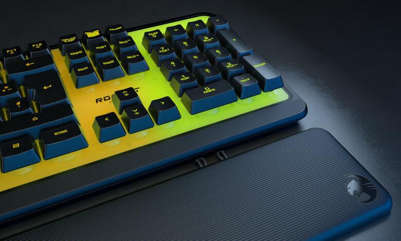 Con Magma y Pyro, Roccat presenta dos teclados gaming por menos de 100 euros