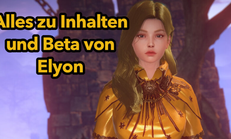 Elyon: 7 cosas que debes saber antes de que comience la beta del nuevo MMORPG
