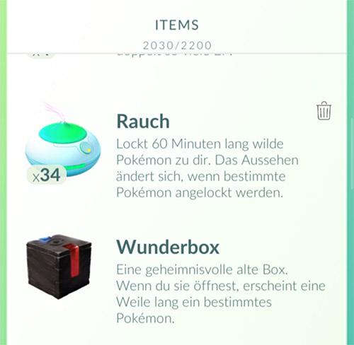 Pokémo GO Wonder Box inventario de la caja Meltan