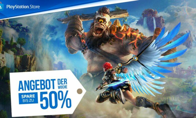 Nueva oferta de la semana en PS Store: Immortals Fenyx Rising hasta un 50% más barato