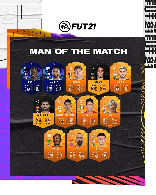 FIFA 21 MOTM 8 de mayo