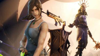 Fortnite: el nuevo NPC puede traerte la piel dorada de Lara Croft, pero hay una guerra real allí