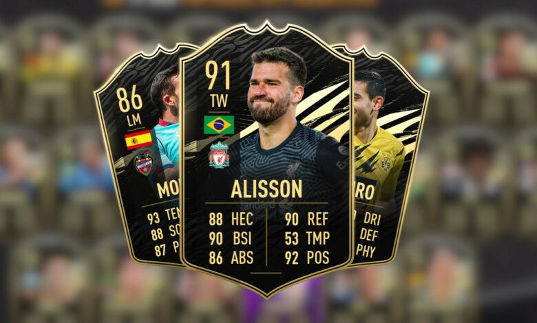FIFA 21: las nuevas cartas especiales de TOTW 33 ya están disponibles