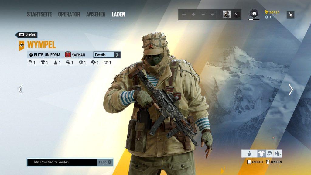 Rainbow Six Siege Elite Skins Kapkan