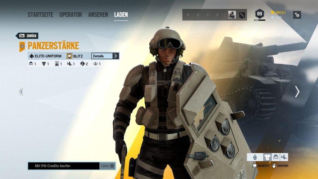 Rainbow Six Siege Elite Skins Blitz