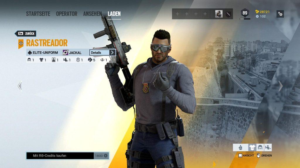 Rainbow Six Siege Elite Skins Chacal