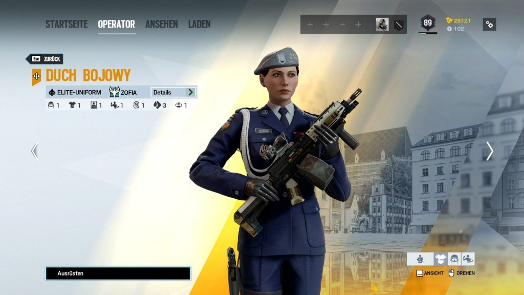 Rainbow Six Siege Elite Skins Zofia 1