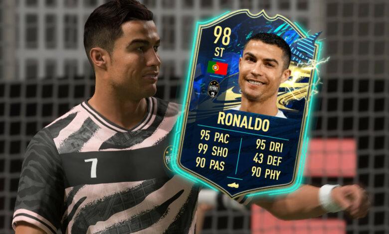 FIFA 21: El TOTS de la Serie A trae delanteros realmente fuertes - Con Ronaldo