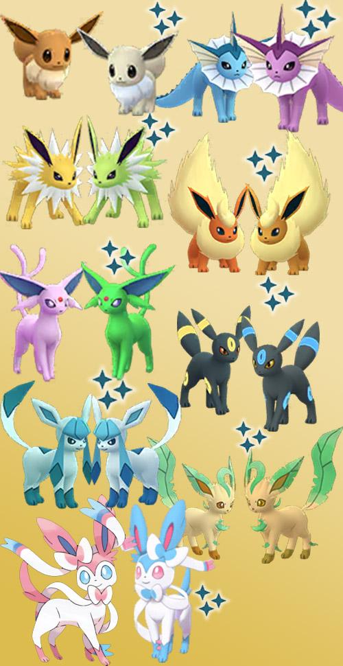 Descripción general de Pokémon GO Shiny Eevee