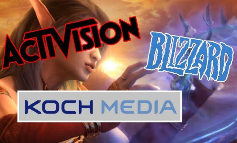 Activision Blizzard cede la distribución de sus juegos en Europa a una empresa de habla alemana