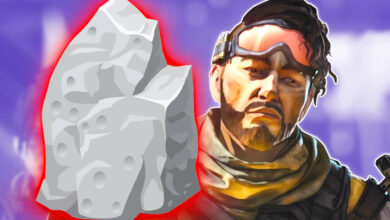 Apex Legends te prohíbe cuando te paras sobre piedras, o simplemente así