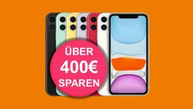 Apple iPhone 11 con tarifa LTE de 60 GB actualmente barato en Saturn.de