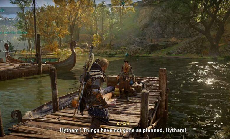 Assassin's Creed (AC) Valhalla - Cómo iniciar la misión Wrath of the Druids