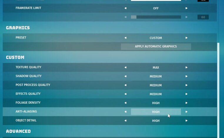 Biomutant: la mejor configuración de gráficos