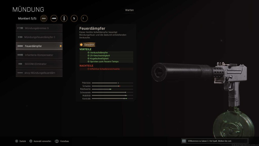cod warzone nuevo super silenciador adicional - compuerta cortafuegos