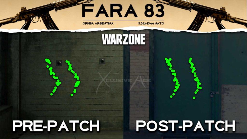 actualización de cod warzone 270521 - ajustes de fara