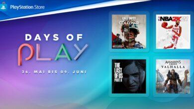 Días de juego en PS Store: hasta un 80% de descuento en muchos éxitos y éxitos de taquilla de PS4