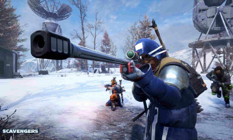 El nuevo shooter Scavengers está demasiado caliente para Steam: ahora permite que todos entren gratis y sin llave