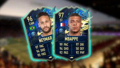 FIFA 21: El TOTS de la Ligue 1 ya está en vivo, con Mbappé y Neymar