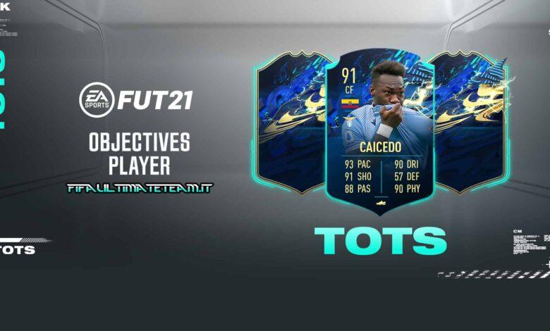 FIFA 21: Objetivos Felipe Caicedo TOTS Moments - Descubre los requisitos