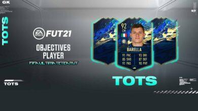 FIFA 21: Objetivos Nicolo Barella TOTS - Descubre los requisitos