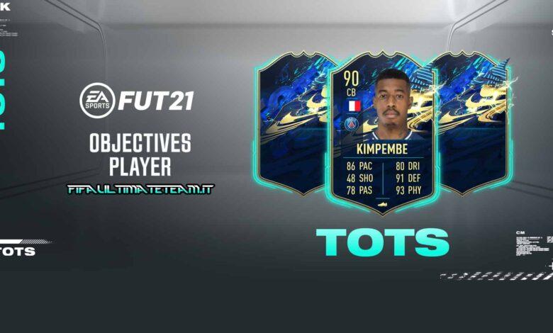 FIFA 21: Objetivos de Presnel Kimpembe TOTS - Descubre los requisitos