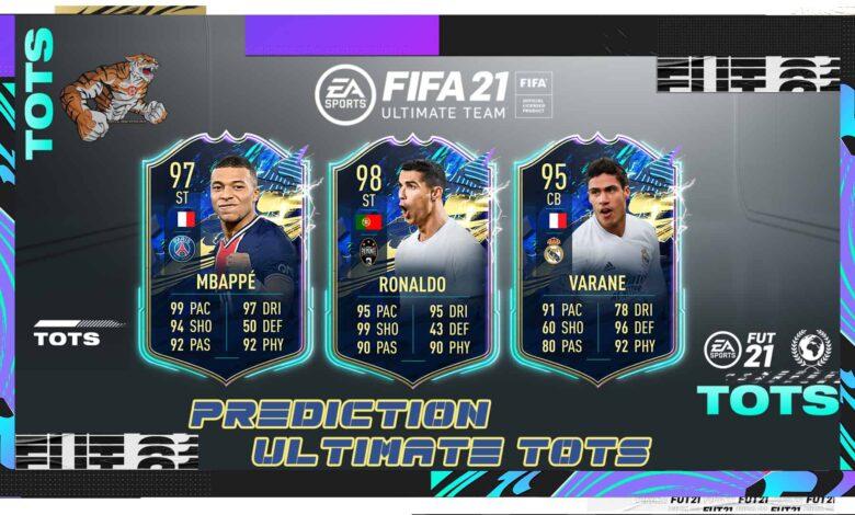 FIFA 21: Prediction Ultimate TOTS: los jugadores más fuertes en un solo equipo de la temporada