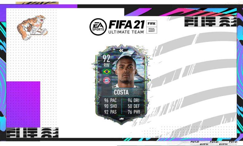FIFA 21: SBC Douglas Costa Flashback - Descubre los requisitos y las soluciones