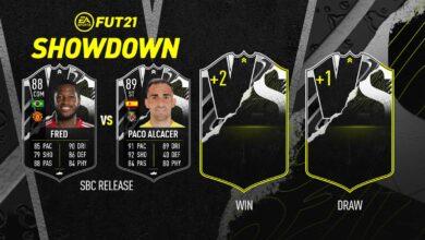 FIFA 21: SBC Fred vs Alcacer Grey Showdown - Descubre los requisitos y las soluciones