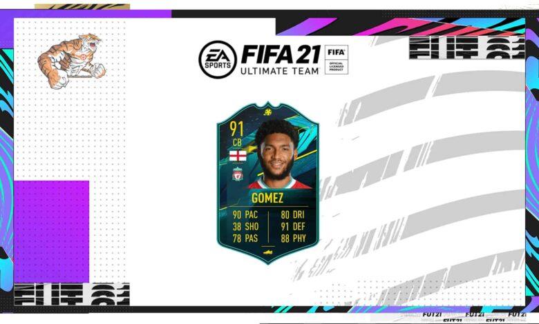 FIFA 21: SBC Joe Gomez Moments - Descubre los requisitos y las soluciones