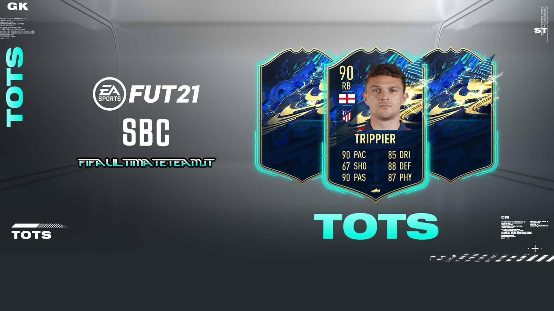 TOTS Trippier de FIFA 21