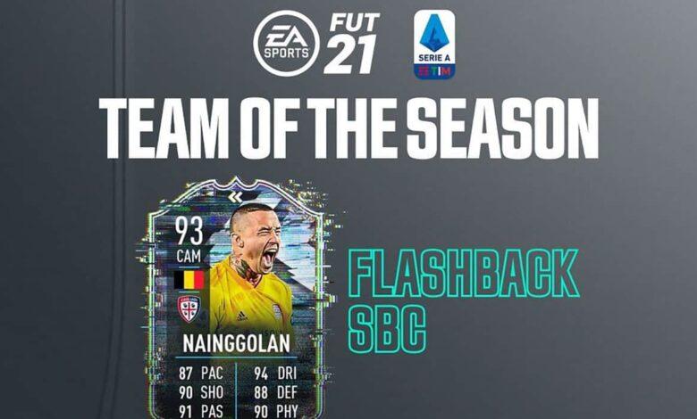 FIFA 21: SBC Radja Nainggolan Flashback - Descubre los requisitos y las soluciones