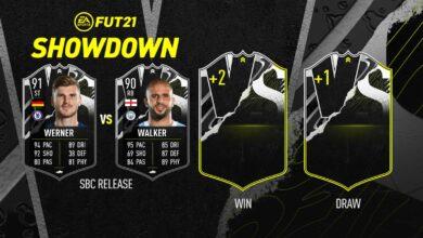 FIFA 21: SBC Werner vs Walker Showdown - Descubre los requisitos y las soluciones